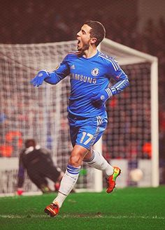 Eden Hazard, he is a soccer player from Chelsea FC who I admire because he is so good and contributes a lot to a team, he is still young and can become one of the best players in the world.