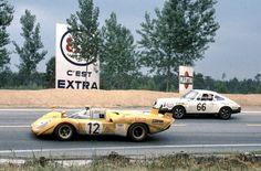 Ferrari a LeMans 1970 Sports Car Racing, Sport Cars, Race Cars, Auto Racing, Road Racing, 24 Hours Le Mans, Le Mans 24, Porsche 911 Rsr, Porsche Cars