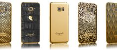 luxexpose article about our lineup of gold Samsung Galaxy Apple Products, Samsung Galaxy S6, Lineup, Fancy, Iphone, Luxury, Gold, Yellow