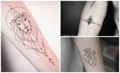 Las mejores fotos de Tatuajes Geométricos - Ideas increíbles para tus tattoos