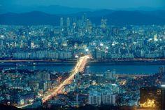 Gangnam District Seoul South Korea- my home some day!