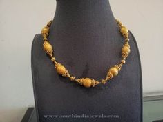 Gold Necklace with Amber Beads, Gold Beaded Necklace Designs Bridal Jewelry, Gold Jewelry, Beaded Jewelry, Beaded Necklaces, Amber Beads, Pearl Beads, Antique Necklace, Gold Necklace, Necklace Designs