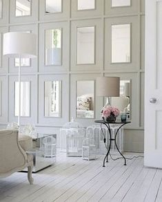Mirror decoration - www.myLusciousLife.com - Glass-Accents.jpg