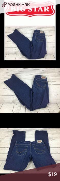 "Big Star Sugar Straight Leg Jeans.  Sz 30 Big Star Sugar Straight Leg Jeans.  Sz 30. Waist 15"". Inseam 31"".  Rise 8"". In good shape. No stains or rips!! Big Star Jeans Straight Leg"