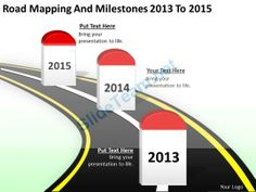 Download Editable Road Map Power Point Slides And Road Map