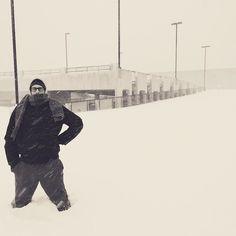 #blizzard2016 #dmv #blizzard #maryland #gaithersburg #snow #me