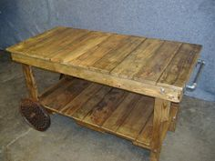 Reclaimed Sofa/Wall Table by RusticandReclaimed on Etsy, $349.00