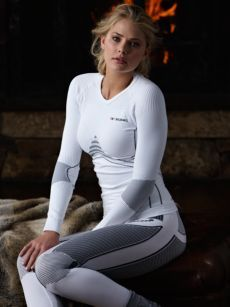 X-Bionic Wintersport Underwear - Energy Accumulator~~ keeps you warm especially if you have low body fat %