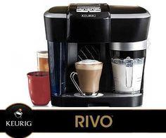 *NEW* Keurig ® Rivo™ Cappuccino & Latte Brewing System - LavAzza R500 #Keurig