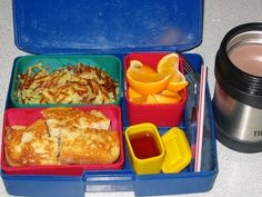 Vegan Lunch Box - all great ideas for toddler and kid lunches. Can easily not be vegan. LOVE the fresh ideas.