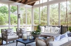 Covered porch | Julie Couch Interiors