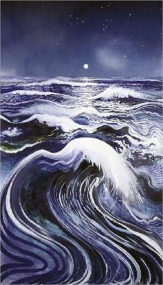 """Thebe's Revenge - Brett Whiteley"" I just think this looks beautiful Nocturne, Avant Garde Artists, Photo D Art, All Nature, Wow Art, Art Database, Australian Artists, Painting Inspiration, Van Gogh"