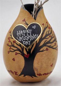DIY Fun Valentine's Day Vase by Christy Barajas