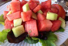 Watermelon and Tarragon Salad #UMNutri