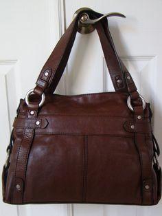 Rare fossil fifty four 54 rachael crossbody handbag purse for Pemberley designer consignments monroe ct