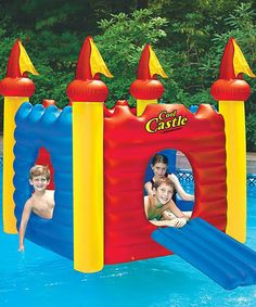 Look what I found on #zulily! Cool Castle Float by Swimline #zulilyfinds