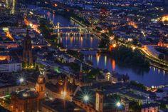 Frankfurt , Germany , HDR