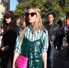 The Best Street Style from Paris Fashion Week SS18