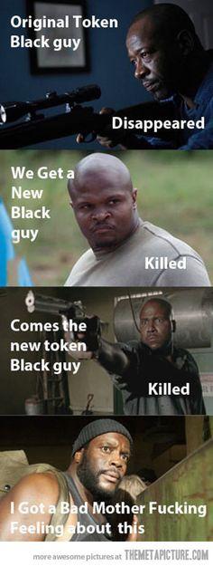 Black people in The Walking Dead�