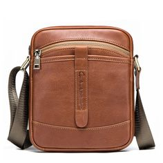 Vintage Men s Retro Hi-Q Genuine Leather Cross Body Messenger Shoulder Bag   fashion   d59b13110a