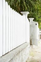 How To Paint A White Picket Fence