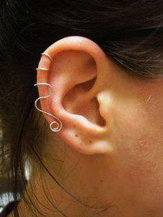 great tutorial on making ear cuffs @Abigail Abner