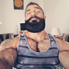 Hairy, massive, bearded...what else can one ask for?