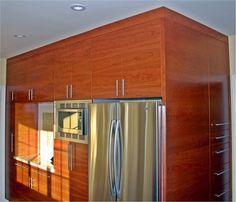 Modern kitchen Cherry veneer contemporary kitchen