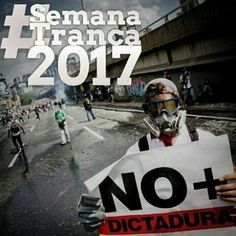 DESPIERTA VENEZUELA POR FAVOR DESPIERTA YAAAAA!!! #SEMANATRANCA2017 #VALENCIA #VENEZUELA