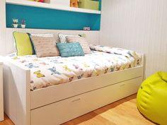 Diseño de dormitorios infantiles, #papel pintado,  #interiorismo, #confección a medida, #textiles para el hogar, #hecho a mano.