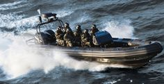Military Rigid Hull Inflatable Boats