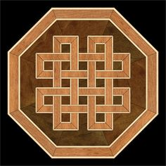 Custom hardwood flooring inlaid designs, medallions, borders and parquet patterns. We combine ancient marquetry with modern shading techniques to create unique appearance. Wood Floor Design, Wooden Pattern, Foto Transfer, Wood Mosaic, Celtic Patterns, Floor Patterns, Pallet Art, Picture On Wood, Barn Quilts