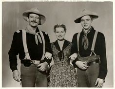 RIO GRANDE (1950) - John Wayne, Maureen O'Hara & Claude Jarman Jr. portray father, mother & son influenced by military tradition - Directed by John Ford - Republic Pictures.