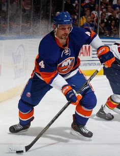 10/23/13 Radek Martínek is given a 1 year contract with the New York Islanders.