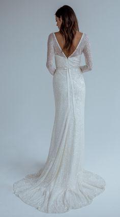 Featured Wedding Dress:Karen Willis Holmes;www.karenwillisholmes.com; Wedding dress idea.