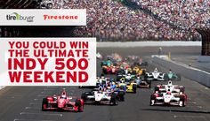You could win a trip to the 100th Running of the Indianapolis 500®. Ends 4/15/16