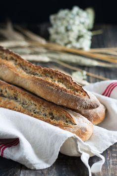 Baguettes aux graines et au levain