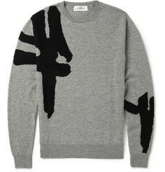 Exemplaire - Patterned Cashmere Sweater | MR PORTER