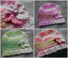 knit baby hat,vintage kız bere