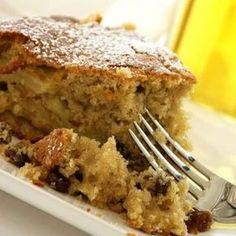 Κέικ μήλου Greek Desserts, Greek Recipes, Greek Cake, Apple Deserts, Different Recipes, Cake Cookies, Cupcakes, Food To Make, Sweet Tooth