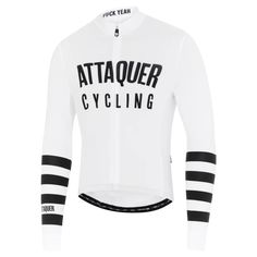 All Day Club Long Sleeve Jersey White Winter Cycling Gear, Cycling Wear, Cycling Jerseys, Cycling Outfit, Cycling Clothing, Day Club, Race Bibs, Snowboarding Outfit, Line Jackets