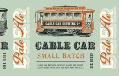 Branding--Love the vintage typography