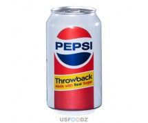 Pepsi Throwback ml) American Drinks, Pepsi, Snacks, Canning, Tins, Food, Boxes, Candy, Chocolate