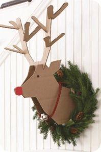 40 Christmas decoration ideas in the Scandinavian style - Kiddies - noel Noel Christmas, Winter Christmas, Christmas Ornaments, Christmas Ideas, Reindeer Christmas, Funny Christmas, Christmas Wreaths, Christmas Pictures, Simple Christmas