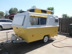 1973 Hunter Compact II travel trailer
