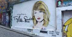 The 'RIP Taylor Swift' mural that cropped up in Melbourne, Australia, has since been painted over twice, with the latest iteration a smiling Kanye West with blonde hair — read more