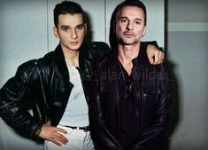 Dave Gahan, Then And Now, My Music, Leather Jacket, Celebrities, Fan, Depeche Mode, Studded Leather Jacket, Leather Jackets