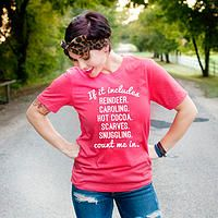 If it Includes: Christmas Edition - Christian T-Shirt by Ruby's Rubbish  $24