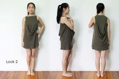 Why wear the same dull thing that other people wear? Express yourself, be unique & different! Upcycle, High Neck Dress, Long Sleeve, Sleeves, T Shirt, Inspiration, Collection, Dresses, Fashion