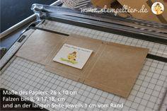 stampin up verpackung merci schokolade verpacken stempeltier papierschneider dekoratives etikett Kraft 01